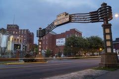 UTICA, NY, ETATS-UNIS - OCT. 03, 2018 : F X Matt Brewing Company est une brasserie possédée par la famille à Utica, New York C'es photo libre de droits