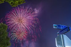 Independence Day July 4th 2018 royalty free stock photography