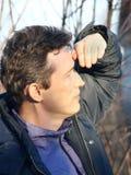 Utile l'uomo. fotografia stock libera da diritti