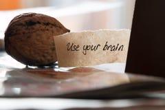 Utilice su cerebro Imagenes de archivo