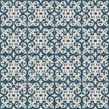 Utilisé kaléidoscope antique sans couture de boule de spirale du fond 155_leaf Photographie stock libre de droits