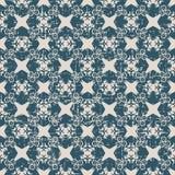 Utilisé kaléidoscope antique sans couture de la géométrie du fond 063_flower Image libre de droits