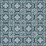 Utilisé kaléidoscope antique sans couture de spirale de feuille du fond 169_round Photographie stock