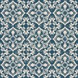 Utilisé kaléidoscope antique sans couture de vigne de feuille du fond 159_flower Images stock