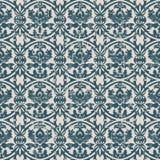 Utilisée feuille antique sans couture de fleur de courbe du fond 195_round Image libre de droits