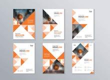 Utilisation abstraite de calibre de couverture et de conception de disposition en insecte, brochure, rapport annuel, affiche et m illustration stock