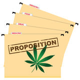Utilisation de cannabis Images stock