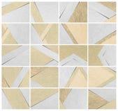 Utilisation de papier de fond de texture pour des calibres de présentation Photos stock