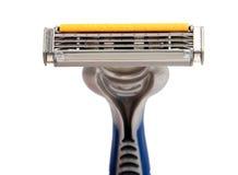 Utilisez la machine de rasage jetable Photo stock
