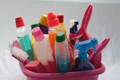 Utilitarios de la limpieza Foto de archivo