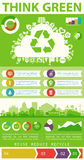 Utility infographics Royalty Free Stock Images