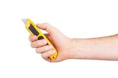 Utility knife isolated Stock Photography