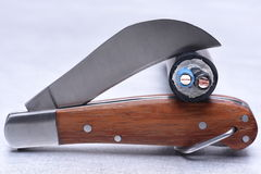 Utility knife tool with cable Stock Images