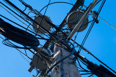 Utility pole Royalty Free Stock Images