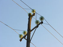 Utility Pole  Royalty Free Stock Photography