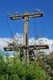 Utility pole Royalty Free Stock Photos
