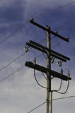 Utility Pole Royalty Free Stock Photos