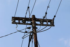 Utility pole Stock Image