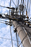 Utility pole Stock Photography