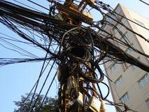 Utility pole Stock Images
