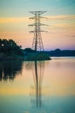 Utility Tower Stock Image