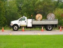 Utility truck Stock Photo