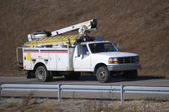 Utility Truck Stock Image