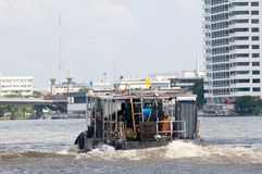 Utility vessel in Bangkok Royalty Free Stock Images