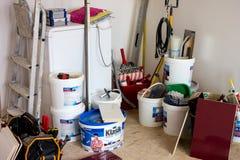 Utiliza ferramentas necessário para uma reconstrução lisa Foto de Stock