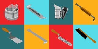 Utiliza ferramentas o infocraphics Fotografia de Stock Royalty Free