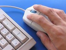 Utilizador del ratón Imagen de archivo