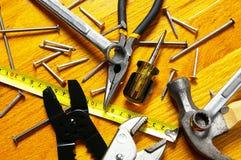 Utilize ferramentas a variedade Foto de Stock Royalty Free