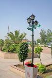 Utilties pubblici della strada principale, Karnal, India immagini stock
