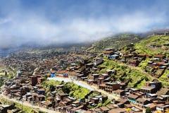 Utkant av Cusco Arkivfoto