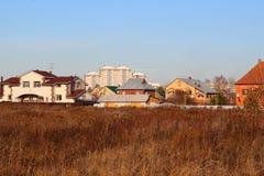 Utkant av staden arkivfoto