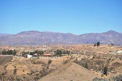 Utkanten av Sucre Arkivfoto