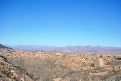 Utkanten av Sucre Royaltyfria Bilder