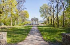 Utkik för GeektempelBelvedere i Neubrandenburg, Tyskland Royaltyfria Foton