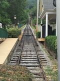 Utkikbergjärnväg i Chattanooga Royaltyfri Foto