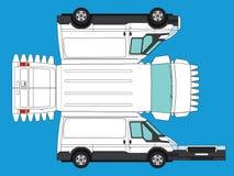 Utklipp av skåpbilen royaltyfri illustrationer