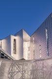 Utläggning-, kongress- och handelmässamitt i Malaga, Spanien arkivbilder