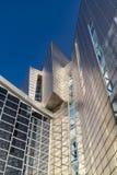 Utläggning-, kongress- och handelmässamitt i Malaga, Spanien Arkivfoton