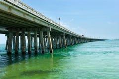 Utländsk huvudväg i Florida Royaltyfria Bilder