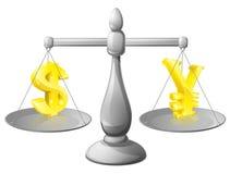 Utländska Exchane Rate Concept Arkivfoto
