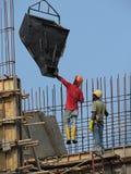 Utländska migrerande arbetstagare för man i Malaysia royaltyfri foto