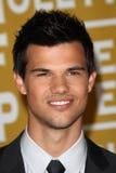 Utlänning Taylor Lautner royaltyfria foton