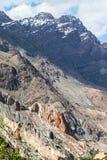 Utlöpare av Pamirsen i Tadzjikistan Arkivbilder