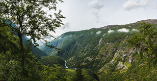 Utladalen. Picture taken on the way up to the top of Vettisfossen Stock Photo