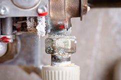 Utleniać drymby od wody fotografia stock