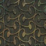 Utleniająca groszaka i metalu bezszwowa tekstura royalty ilustracja